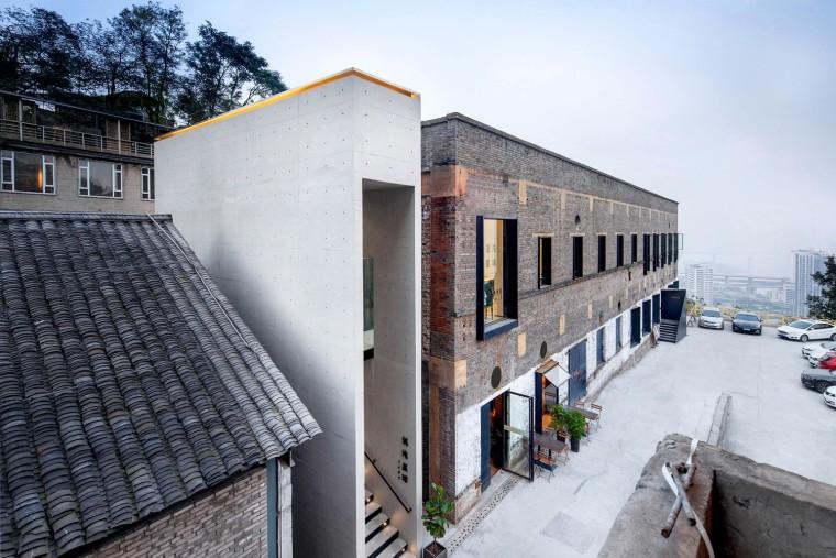 新与老相映成趣,重庆混沌大学教学中心