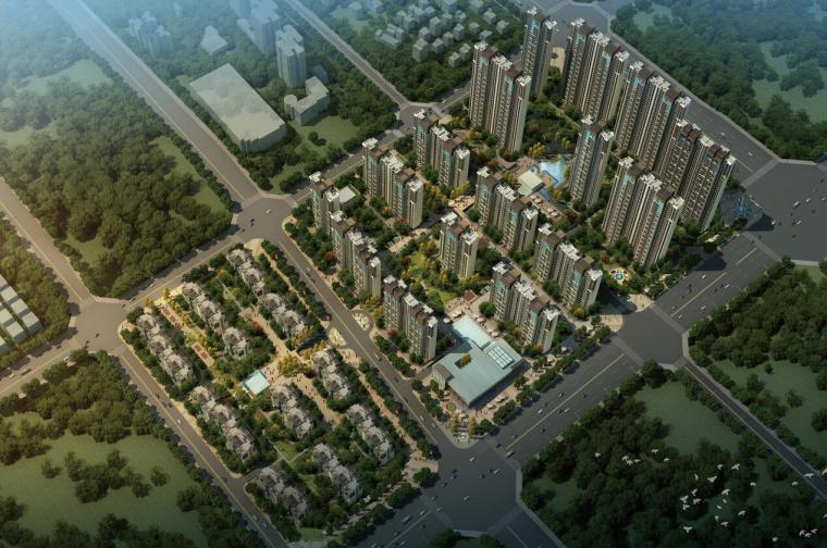 [河南]新中式风格居住区建筑规划文本设计(JPG+95页)