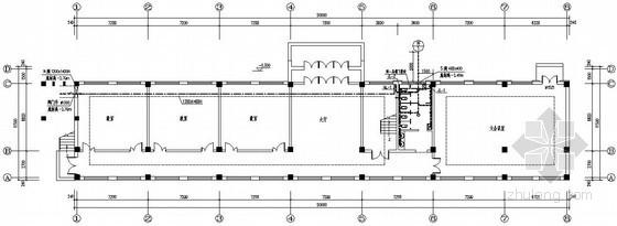 三层框架小学学前楼给排水采暖施工图