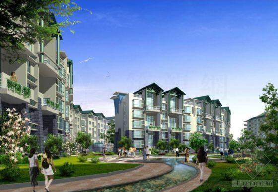 南京住宅小区环境景观方案-2