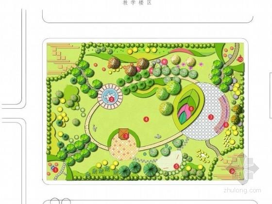 小学校园公共绿地景观设计方案