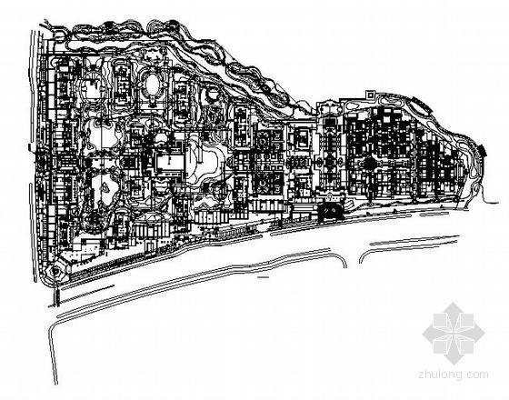 [杭州]景观小区给排水施工图
