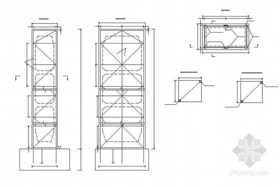 连续钢构箱梁特大桥引桥薄壁空心墩劲性骨架布置节点详图设计