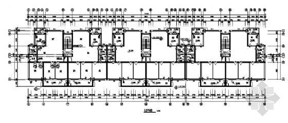 某五层住宅楼建筑施工图-3