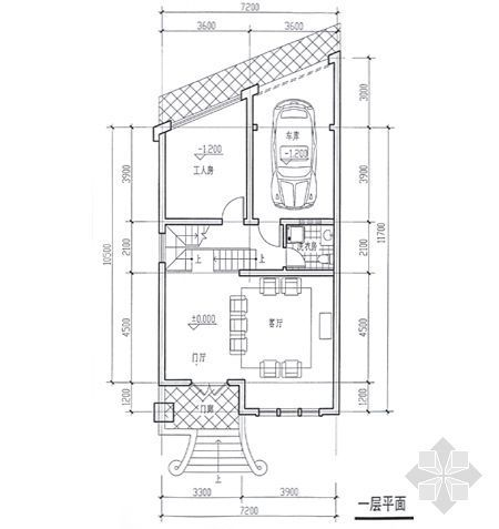 某别墅平面图及效果图9