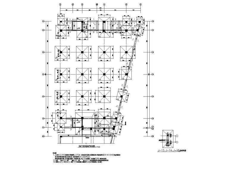 [江苏]两栋地上四层框架结构工业厂房结构施工图
