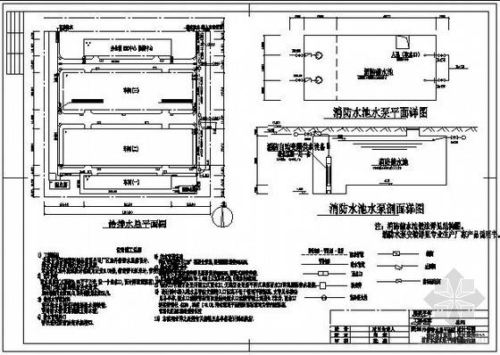 某厂给排水总平面设计