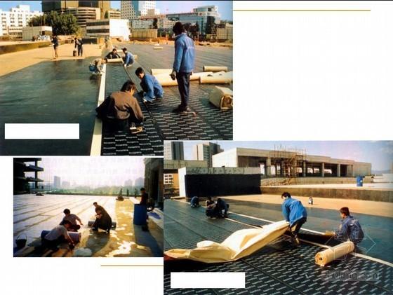 防水工程施工技术培训讲义PPT(101页,附图丰富)