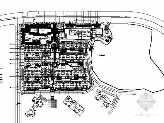 贵州小区绿化工程施工设计图