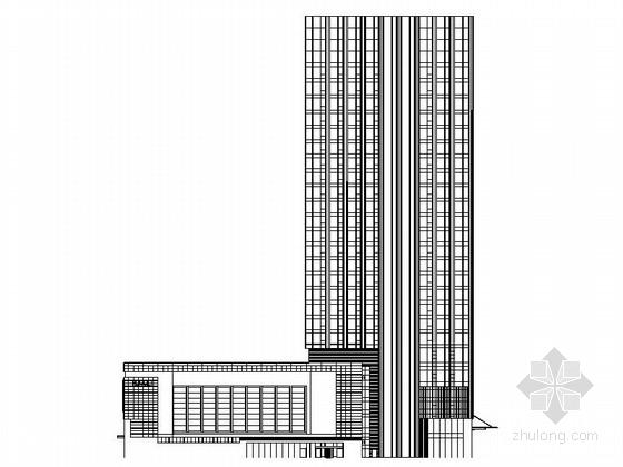 [济南]117米超高层星级酒店幕墙施工图(知名地产)