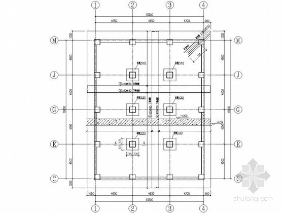 面粉厂矩形混凝土麦仓立筒库施工图