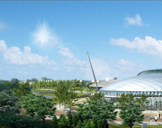 浙江大学文体中心整体规划及体育馆建筑设计文本