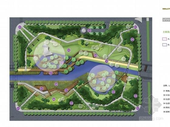 [芜湖]中央公园水生植物园景观设计方案图片