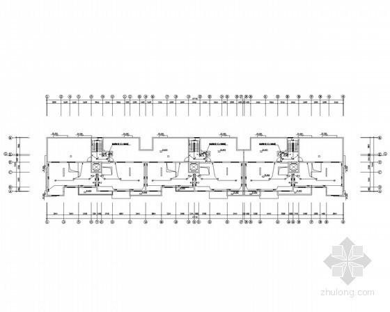 [山东]11层剪力墙框架结构住宅楼全套电气施工图纸