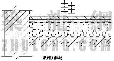 分户计量图库大全(4)-辐射供暖地板的构成