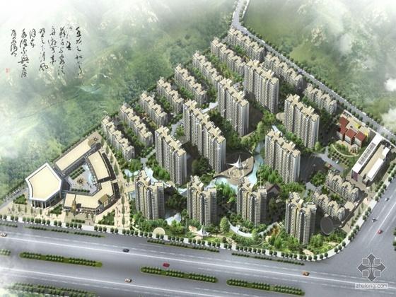 [晋江]某山庄住宅小区规划设计方案