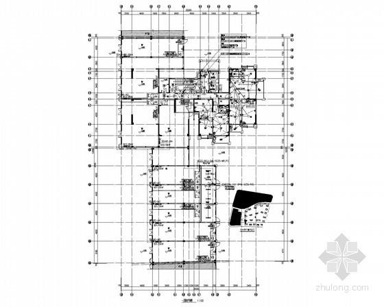 [安徽]住宅小区强弱电施工图150张(多栋住宅楼)