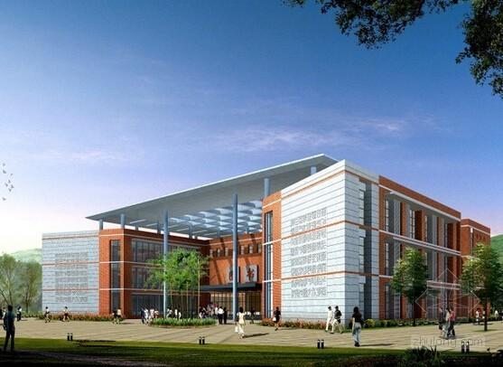 [毕业设计]江苏大学图书馆建设工程施工招投标文件编制427页(清单报价 施工组织设计)