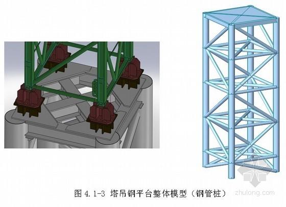 [湖北]住宅楼塔吊基础施工方案(桩、格构柱基础)