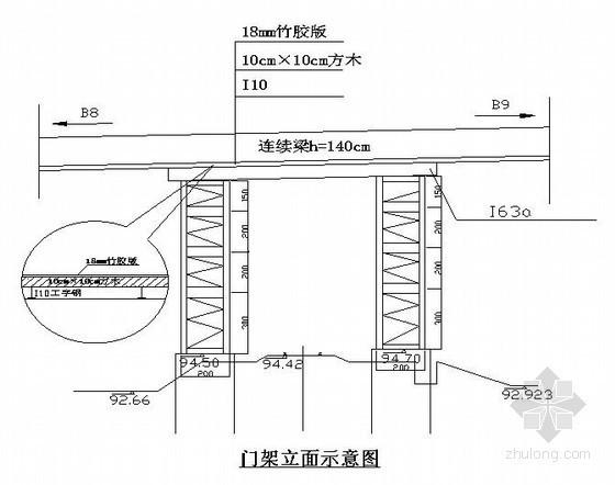 [河北]立交上跨铁路工程施工方案(中铁)