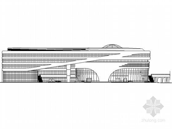 [安徽]市级科技馆及档案馆建筑施工图(2015年图纸)