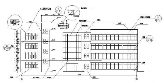 五层综合楼建筑施工图-2