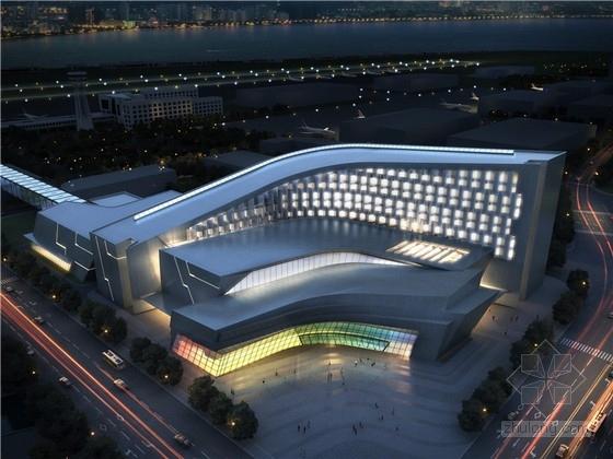 [福建]大型机场配套办公楼建筑设计方案文本