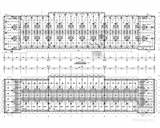 [安徽]商业建筑电气施工图67张(2014年设计 审图回复)
