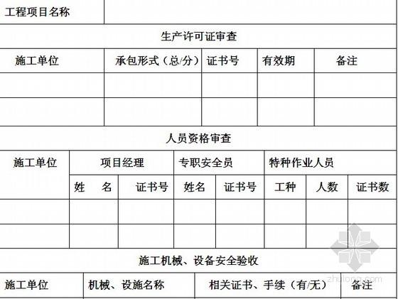 建设工程监理月报表格填写实例