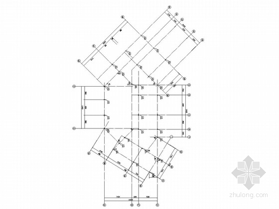 三层门式刚架结构办公楼结构施工图