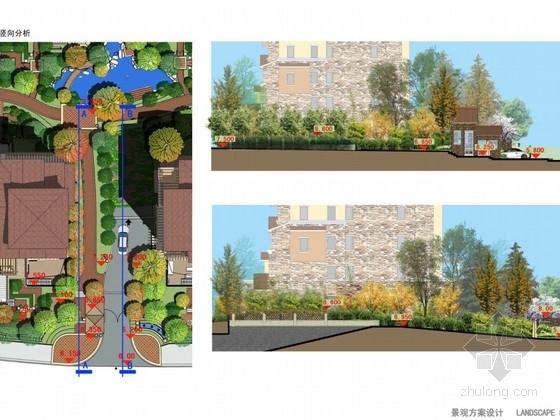 [杭州]西班牙风情居住区景观设计方案