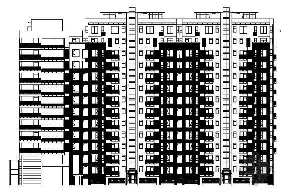 万科高层住宅楼建筑方案图-知名地产高层住宅楼建筑方案图
