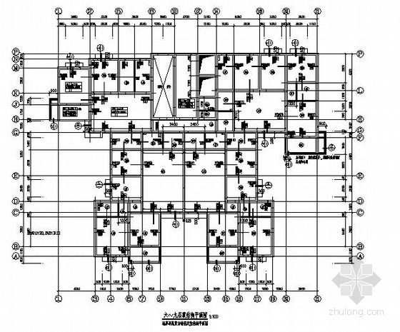 26层剪力墙住宅楼结构施工图(电梯机房 含塔楼)