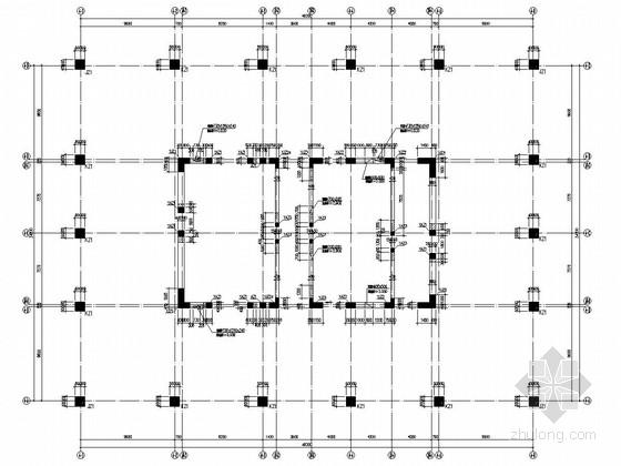 三十八层混合结构住宅楼结构施工图