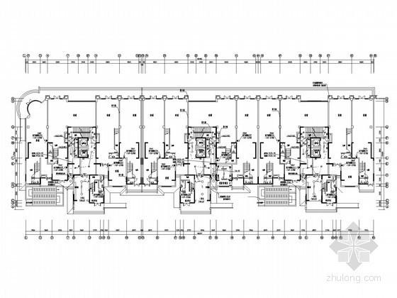 [河南]一类高层综合性商住楼全套电气施工图纸
