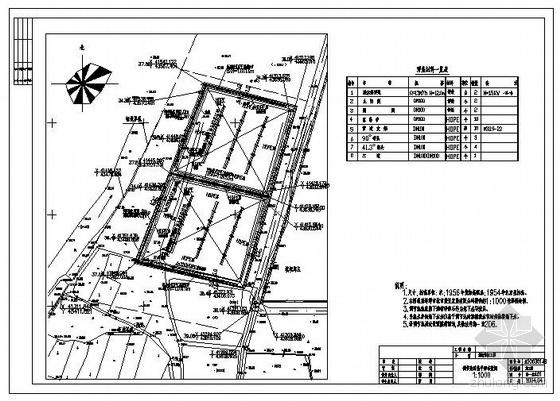 安徽某垃圾填埋场防渗系统施工图