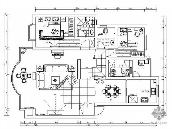 [广州]复式楼设计方案