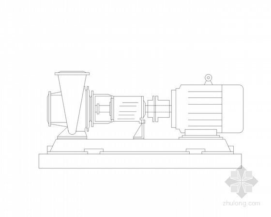 水处理设施CAD图块