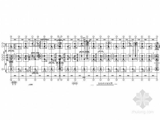 [安徽]六层底框烧结多孔砖砌体结构住宅结构施工图(带阁楼)
