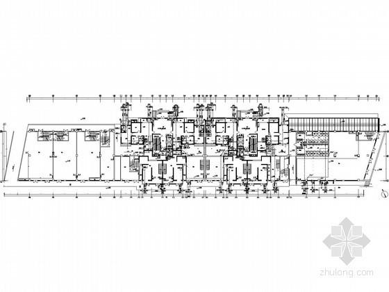[陕西]一梯两户塔式商业住宅全套给排水施工图(压力排水)