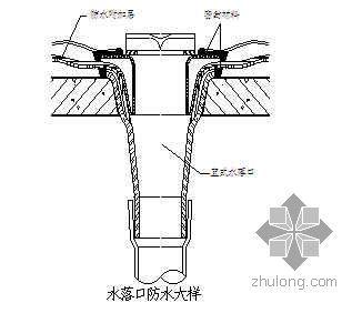 广东某住宅工程防水施工方案(防水涂料 防水卷材)