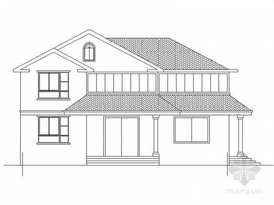 [新农村]2层乡村别墅建筑施工图(含效果图)
