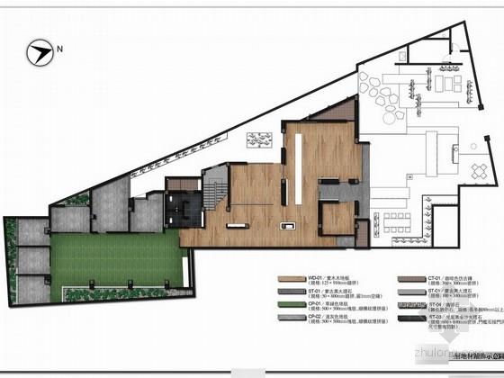 精品非物质文化遗产公园五星级豪华高档酒店室内设计方案