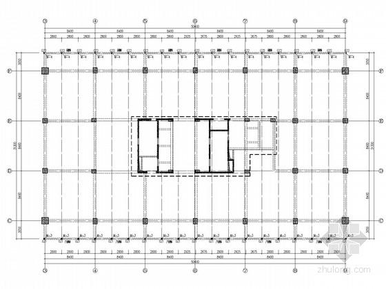 高层楼顶广告牌结构施工图