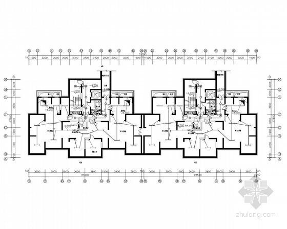 [陕西]27层高层住宅电气施工图