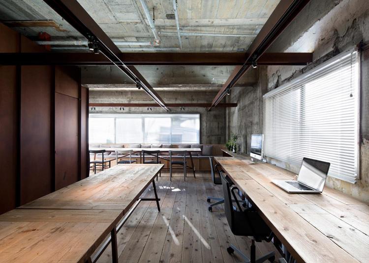 建筑师给自己设计的办公室,什么样的都有_14
