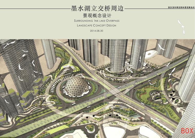 现代简约风格商业街景观汇报文本—BOX深圳博克斯林景观事务所