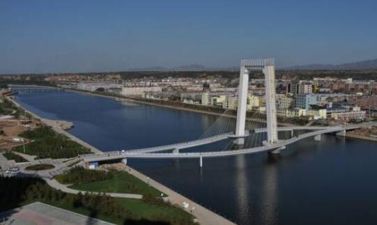 滨河公园人行景观桥案例欣赏