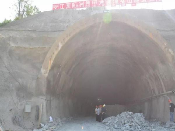 源头山隧道工程进展顺利