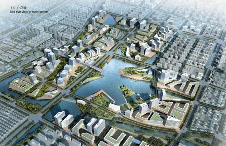 [上海]嘉定新城马东地区城市设计国际方案设计